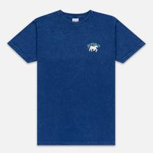 Мужская футболка RIPNDIP Nermland Blue Mineral Wash фото- 0