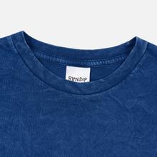 Мужская футболка RIPNDIP Nermland Blue Mineral Wash фото- 1