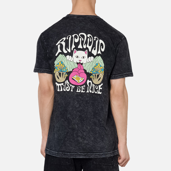 Мужская футболка RIPNDIP One More Tab Grey Mineral Wash