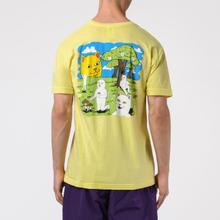 Мужская футболка RIPNDIP Park Day Light Yellow фото- 3