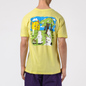 Мужская футболка RIPNDIP Park Day Light Yellow фото - 3