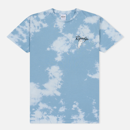 Мужская футболка RIPNDIP Relax Blue/White Cloud Wash