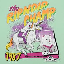 Мужская футболка RIPNDIP Riding Champ Light Mint фото- 2