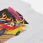 Мужская футболка RIPNDIP RIPNDIP Racing White фото - 2