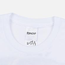 Мужская футболка RIPNDIP RIPNDIP Racing White фото- 1