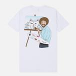 Мужская футболка RIPNDIP Ross White фото- 4