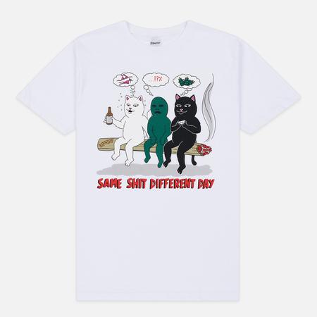 Мужская футболка RIPNDIP Same Dreams White