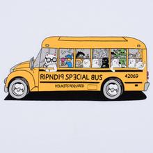 Мужская футболка RIPNDIP School Bus White фото- 2