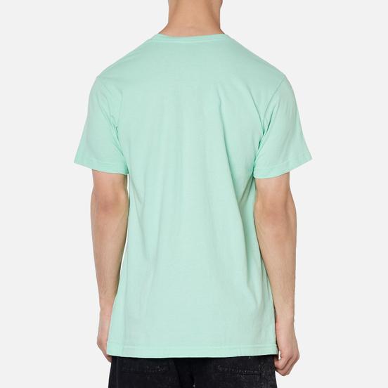 Мужская футболка RIPNDIP Shocked Mint Mineral Wash
