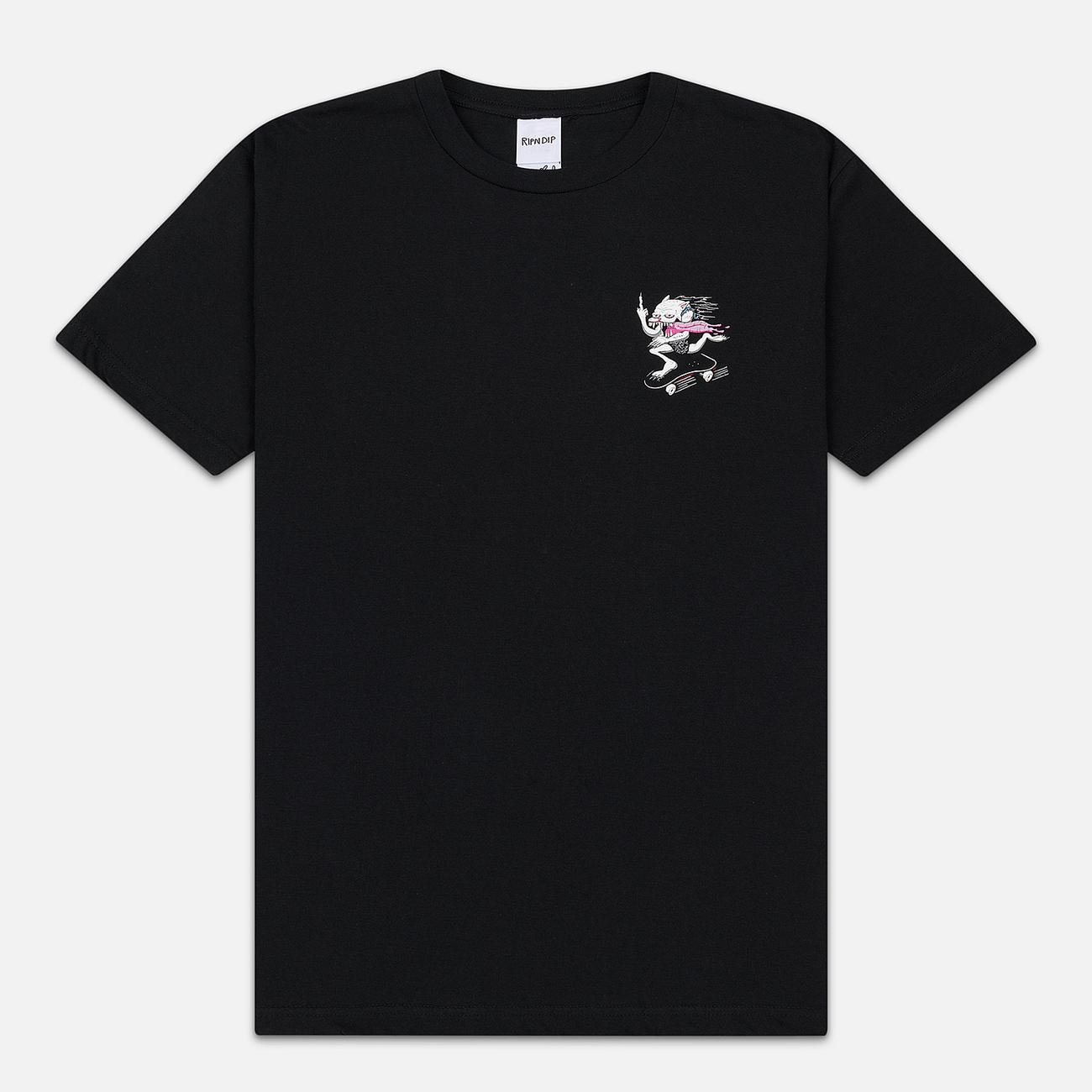 Мужская футболка RIPNDIP Skate Nerm Black