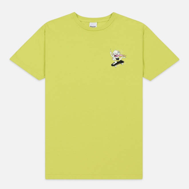 Мужская футболка RIPNDIP Skate Nerm Safety Green