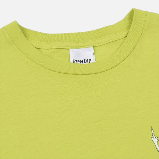 Мужская футболка RIPNDIP Skate Nerm Safety Green