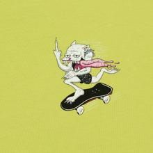 Мужская футболка RIPNDIP Skate Nerm Safety Green фото- 2