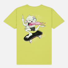 Мужская футболка RIPNDIP Skate Nerm Safety Green фото- 3