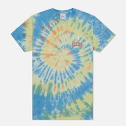 Мужская футболка RIPNDIP Smokin Multicolor Tie Dye