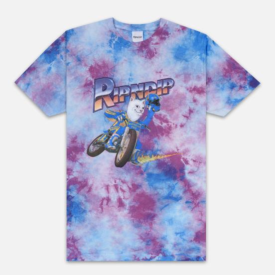 Мужская футболка RIPNDIP Speed Racing Spiral Dye
