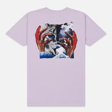 Мужская футболка RIPNDIP Split Lavender фото- 3
