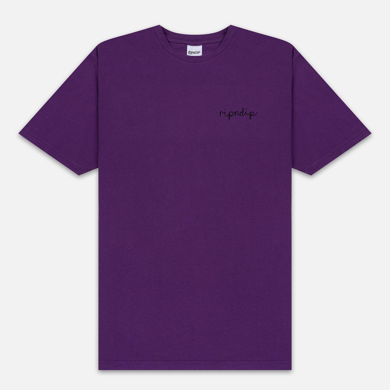 Мужская футболка RIPNDIP Tangled Purple