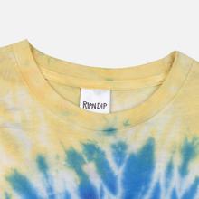 Мужская футболка RIPNDIP The Nerm & Jerm Show Spiral Dye фото- 1