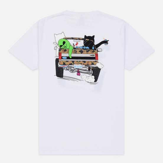 Мужская футболка RIPNDIP The Whole Gang White