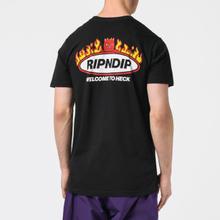 Мужская футболка RIPNDIP Welcome To Heck Black фото- 3