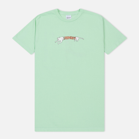 Мужская футболка RIPNDIP Zipperface Mint