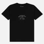Мужская футболка Saturdays Surf NYC Established USA Black фото- 0