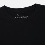 Мужская футболка Saturdays Surf NYC Established USA Black фото- 1