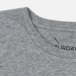 Мужская футболка Saturdays Surf NYC Miller Standard Ash Heather фото- 1
