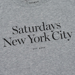 Мужская футболка Saturdays Surf NYC Miller Standard Ash Heather фото- 3