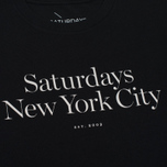 Мужская футболка Saturdays Surf NYC Miller Standard Black фото- 2