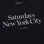 Мужская футболка Saturdays Surf NYC Miller Standard Black фото- 3