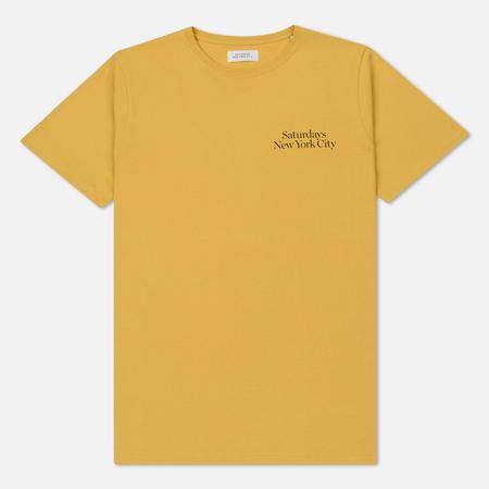 Мужская футболка Saturdays Surf NYC Miller Standard Chest S/S Dusty Amber