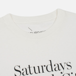 Мужская футболка Saturdays Surf NYC Miller Standard Ivory фото- 1