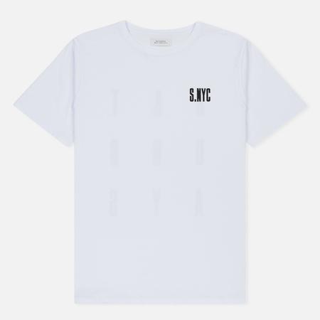 Мужская футболка Saturdays Surf NYC S.NYC White