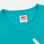 Мужская футболка Sex skateboards Sex Logo Blue фото- 1