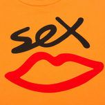 Мужская футболка Sex skateboards Sex Logo Orange фото- 2