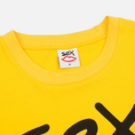 Мужская футболка Sex skateboards Sex Logo Yellow фото- 1