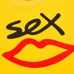 Мужская футболка Sex skateboards Sex Logo Yellow фото- 2