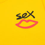 Мужская футболка Sex skateboards Sex Mini Logo Yellow фото- 2
