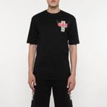 Мужская футболка Sex skateboards x Dogtown Front & Back Print Black фото- 4