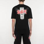 Мужская футболка Sex skateboards x Dogtown Front & Back Print Black фото- 5