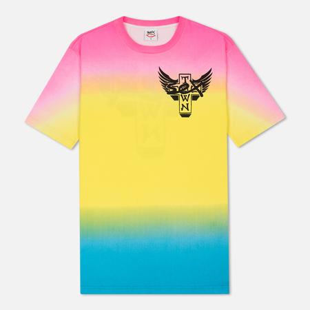 Мужская футболка Sex skateboards x Dogtown Front & Back Print Multicolor
