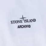 Мужская футболка Stone Island Archivio Project White фото- 2