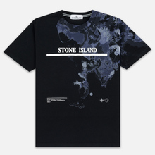 Мужская футболка Stone Island 7115 Graphic Eight Black фото- 0