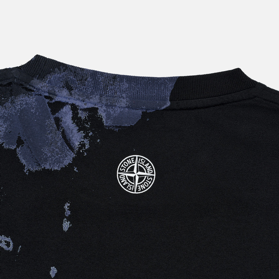 Мужская футболка Stone Island 7115 Graphic Eight Black