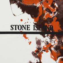 Мужская футболка Stone Island 7115 Graphic Eight Natural White фото- 2
