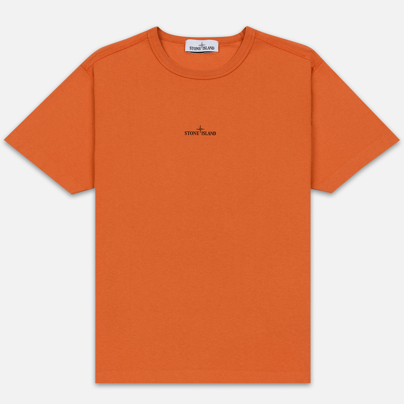 Мужская футболка Stone Island 7115 Graphic One Orange