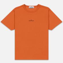 Мужская футболка Stone Island 7115 Graphic One Orange фото- 0