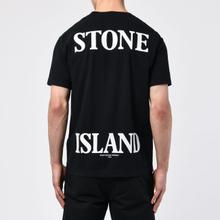 Мужская футболка Stone Island 7215 Graphic Seven Black фото- 3